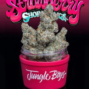 Jungle Boys Stawberry shortcake strain - Jungleboysexotic.com